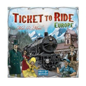 Ticket to Ride Europe Bordspel van Days of Wonder