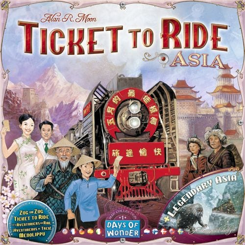 Ticket to Ride - Asia (Map collection 1)-0