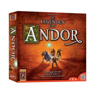 De Legende van Andor bordspel 999 Games