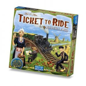 Ticket to Ride Nederland Uitbreiding Doos