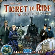 Ticket to Ride uitbreiding United Kingdom-0