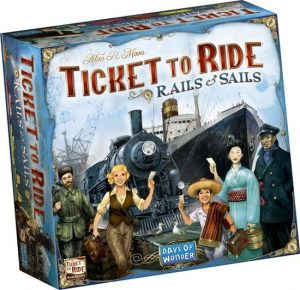 Ticket to Ride Rails & Sails NL-0