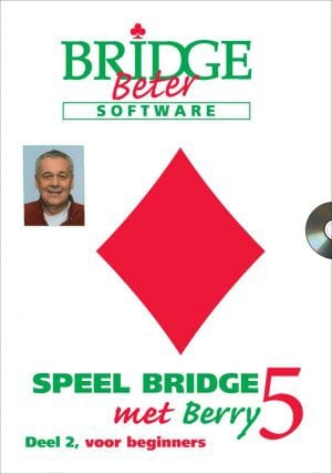 CD Speel bridge met Berry 5 oefenspellen 2-0